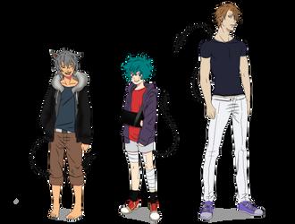 New Characters 2019 (Akwaro Phenomenon: RE) by tahonard