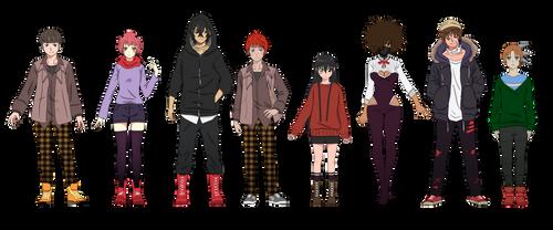 Characters Sheet Design (Akwaro Unlimited)