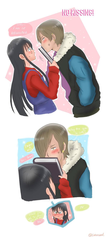 No Kissing !