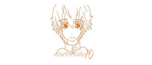 First drawing manga by rosebleudu10