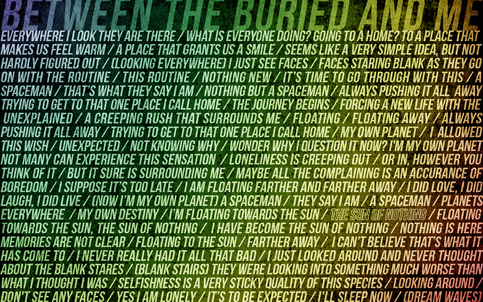 Between The Buried And Me By Rcoskrey On Deviantart