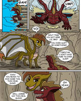 Flare and Fire: Act of Volition pg 22 by oogaboogaz