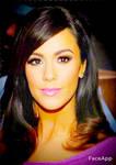 Kourtney Kardashian as daphne