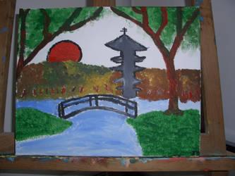 Japanese Landscape v881 by lv888