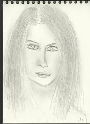 Exploring woman face v882