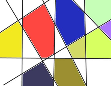 Mondrian inspiration v881