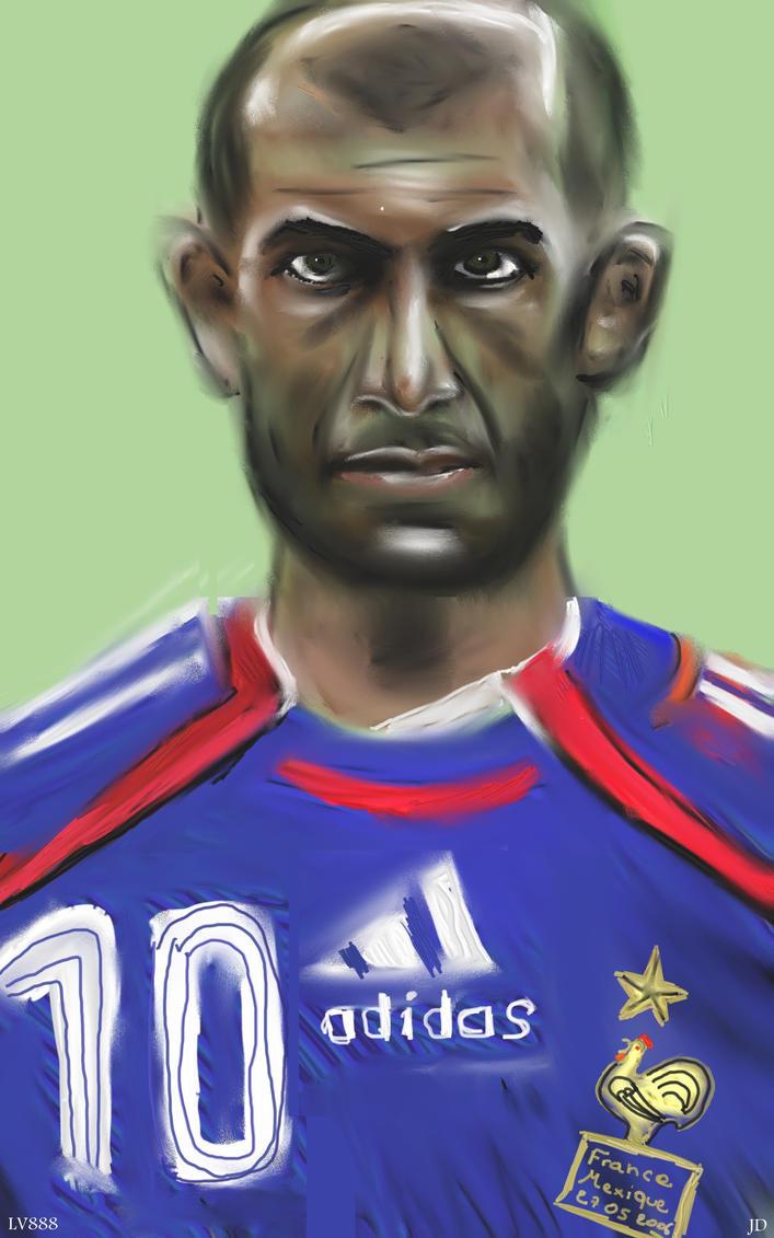 Zinedine Zidane v881 by lv888