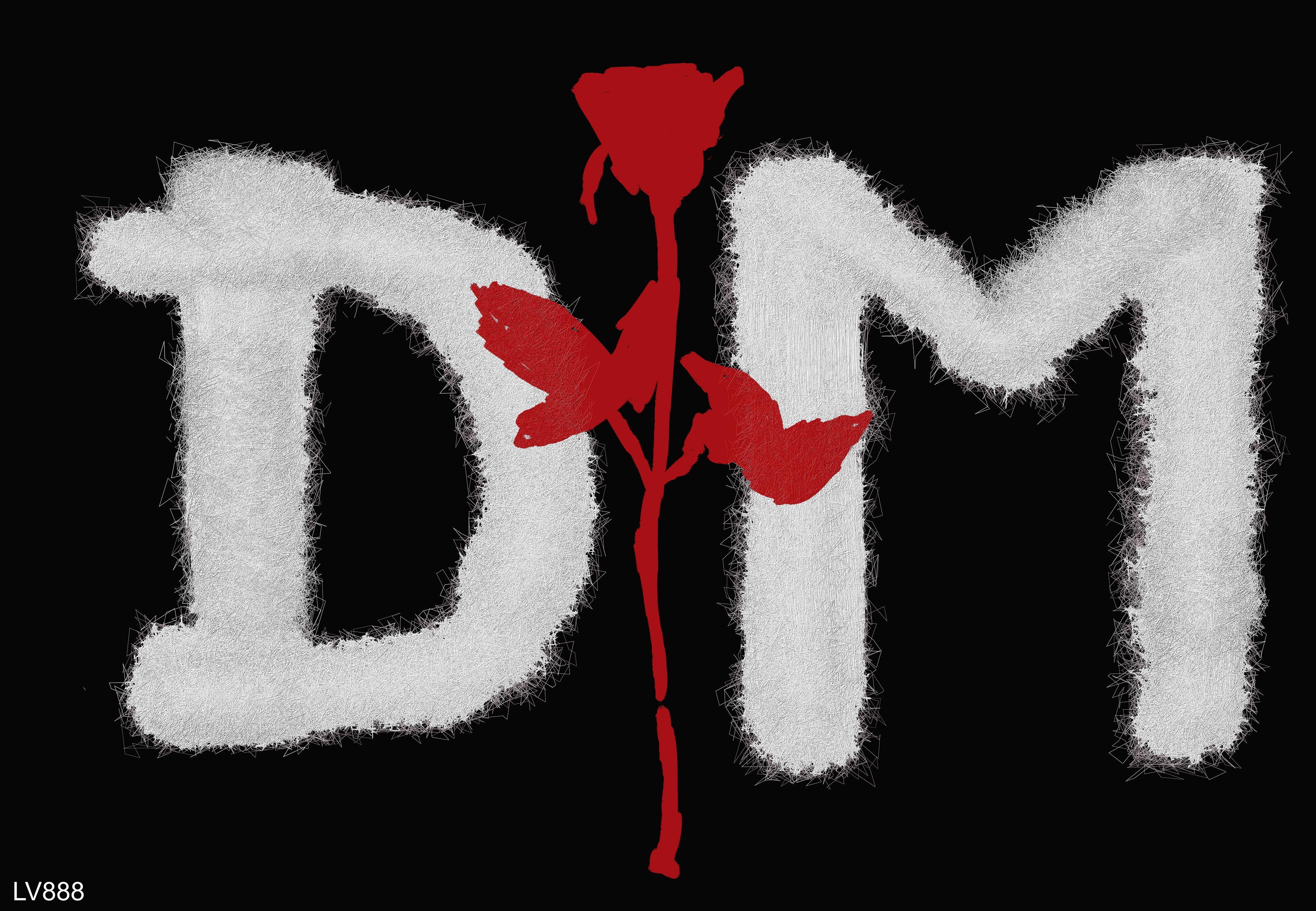 depeche mode logo v882 by lv888 on deviantart