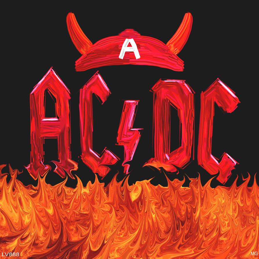 Ac Dc Art : Ac dc logo v by lv on deviantart
