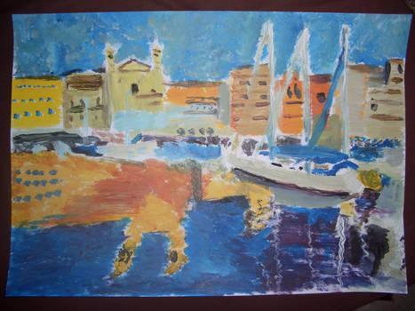 Port Corse v881 (Acrylique)