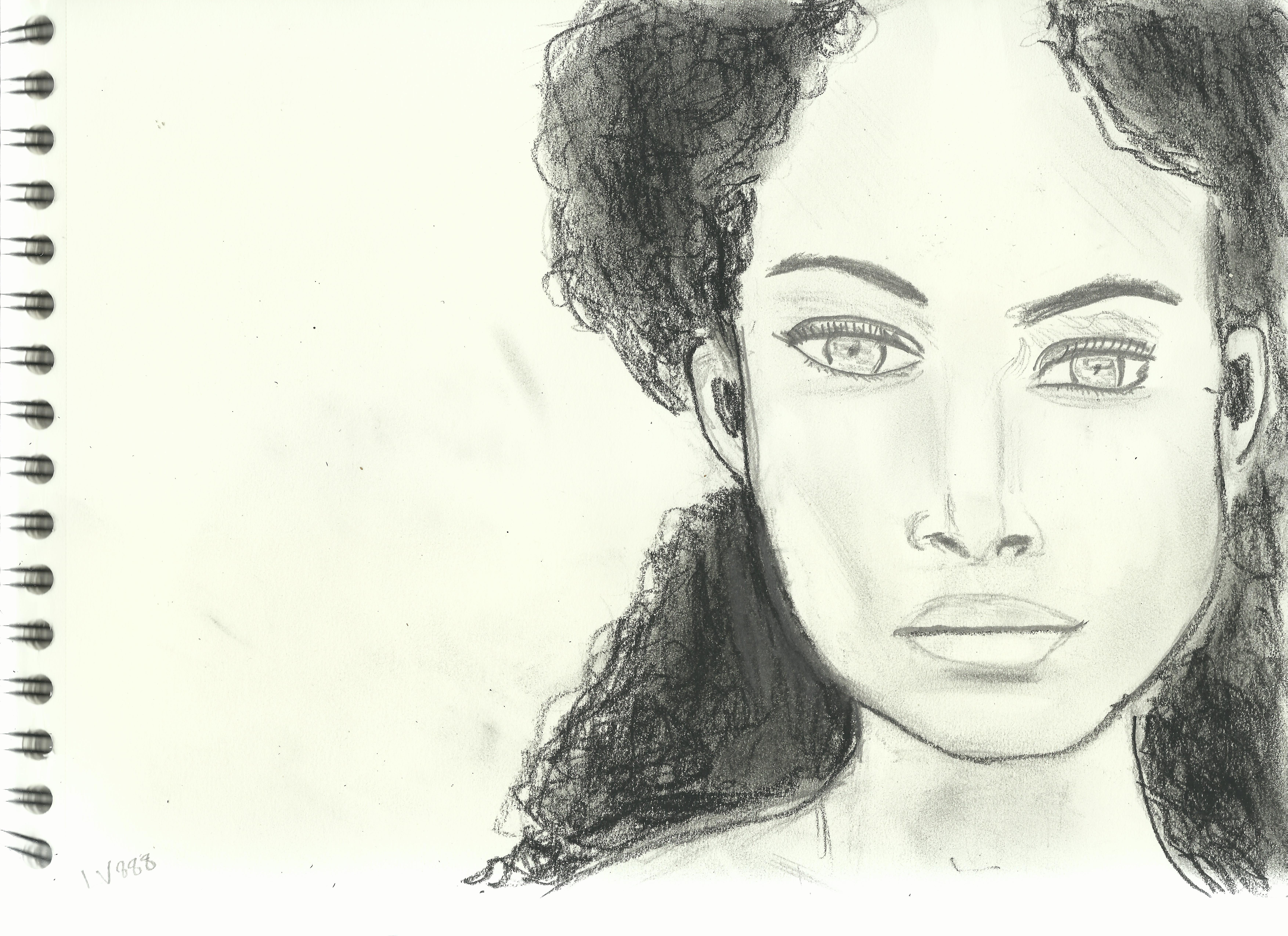 Woman Face Study 98 by lv888