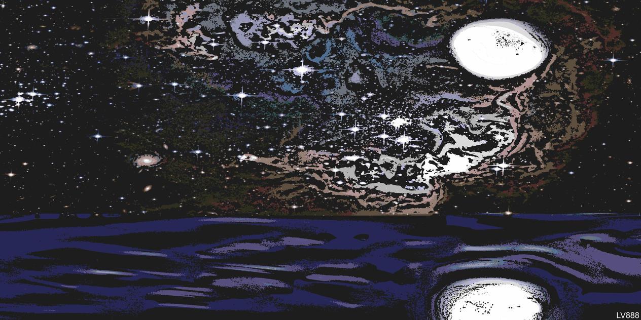 Le Ciel, La Mer et La Lune v881 by lv888