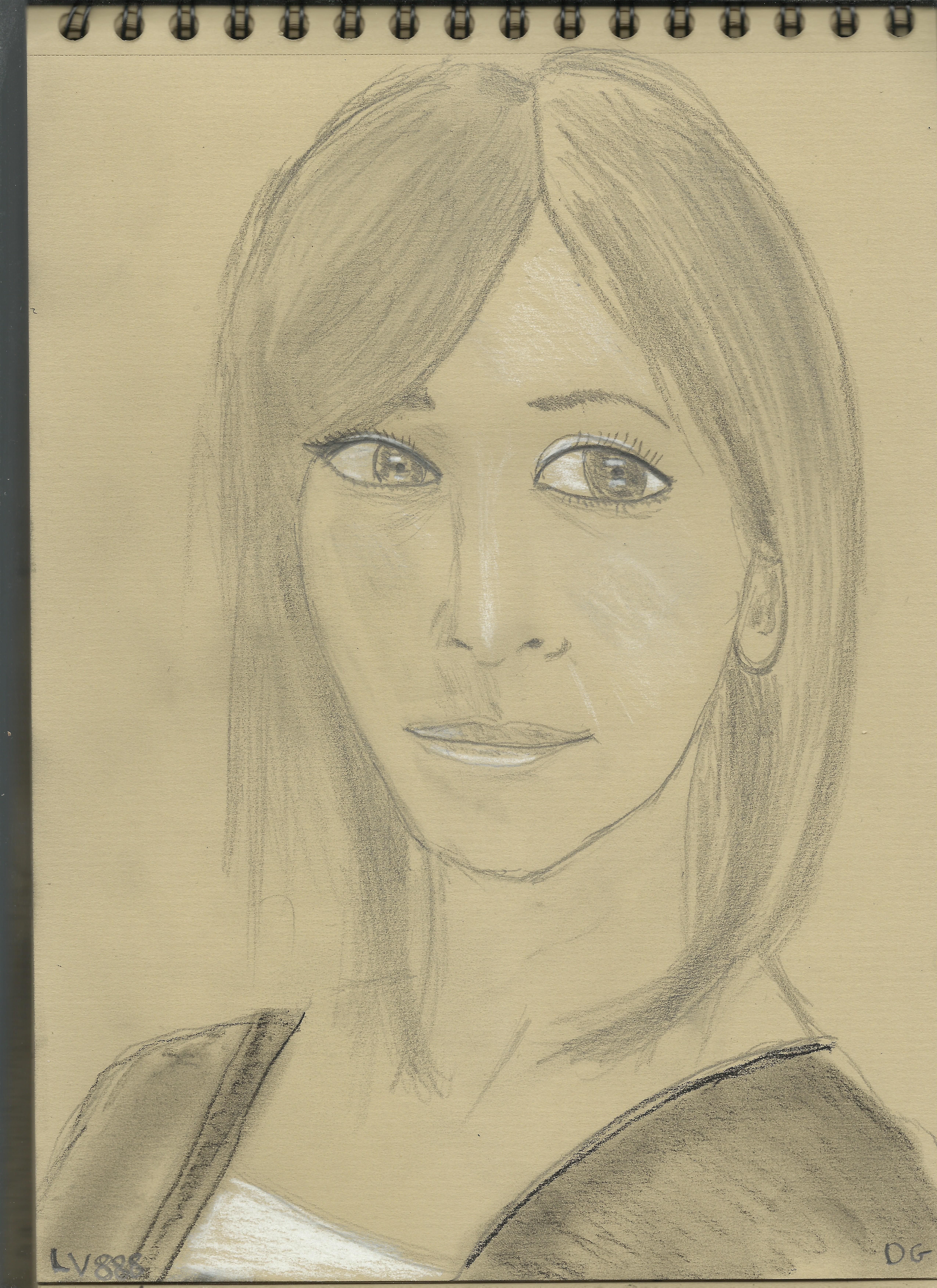 Kraft Test - Woman face study n105 by lv888