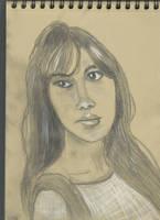 Kraft test - Woman face study n110 by lv888
