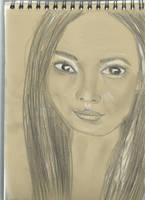 Kraft test - Woman face study n111 by lv888