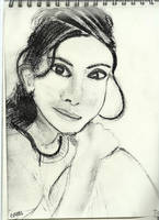 Woman face study n124 by lv888
