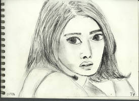 Woman face study n125 by lv888