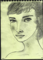 Woman Face Study N130 by lv888