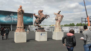 Chess Pieces - Harry Potter London WB Studio by lv888