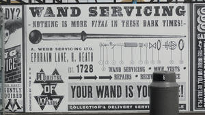 Wand Servicing - Harry Potter London WB Studio by lv888