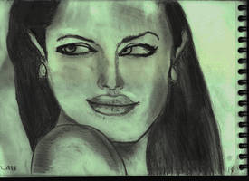 Woman Face Study N137 by lv888