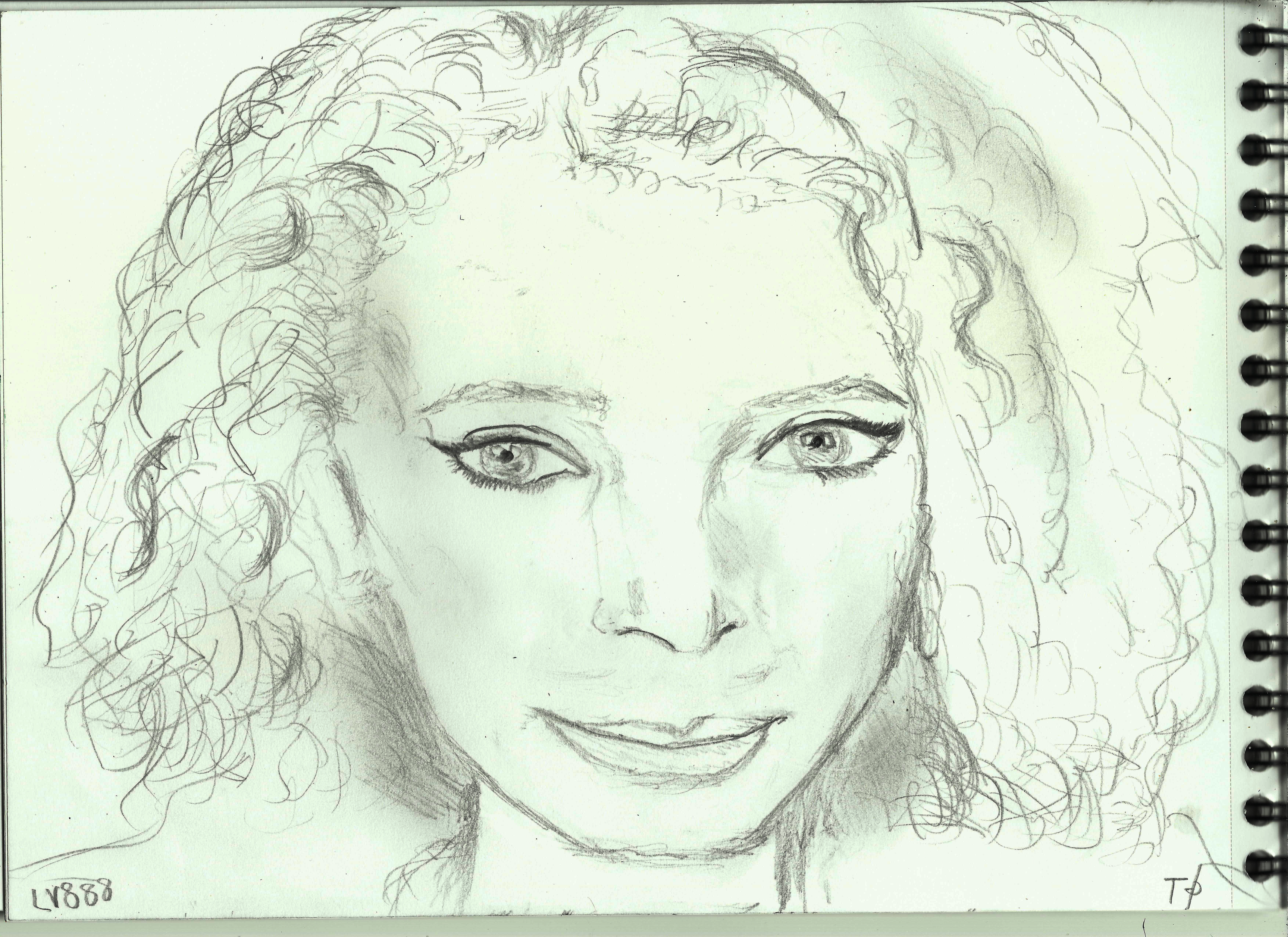Woman Face Study N139 by lv888