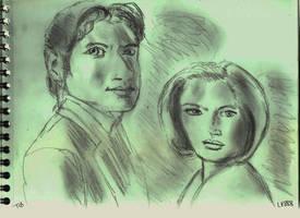Mulder et Scully v882 by lv888