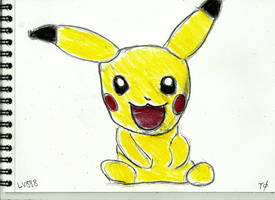 Baby Pikachu v881 by lv888