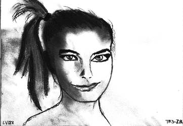 Woman face study n144 by lv888