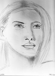 Woman Face Study N147