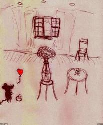 Black Mouse In Love v881 by lv888