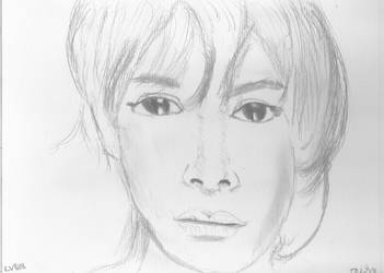 Woman Face Study n148 by lv888