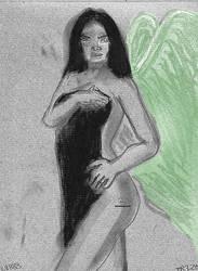 Woman Nude Study N53 bis by lv888