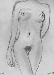 Woman Nude Study N54 by lv888