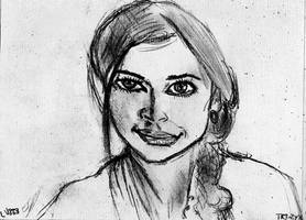 Woman Face Study n150
