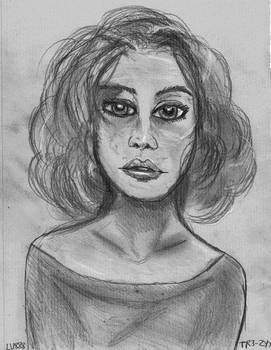 Woman Face Study n151