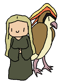 Gildor And Pidgeot by Bubbles-San