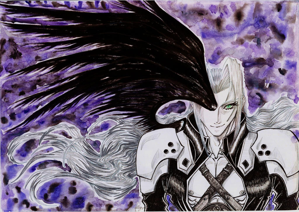 one winged angel finished