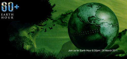 60+ earth hour