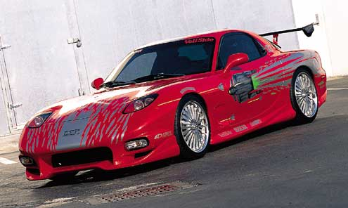Fast and the Furious RX7 by trdnsmokars on DeviantArt