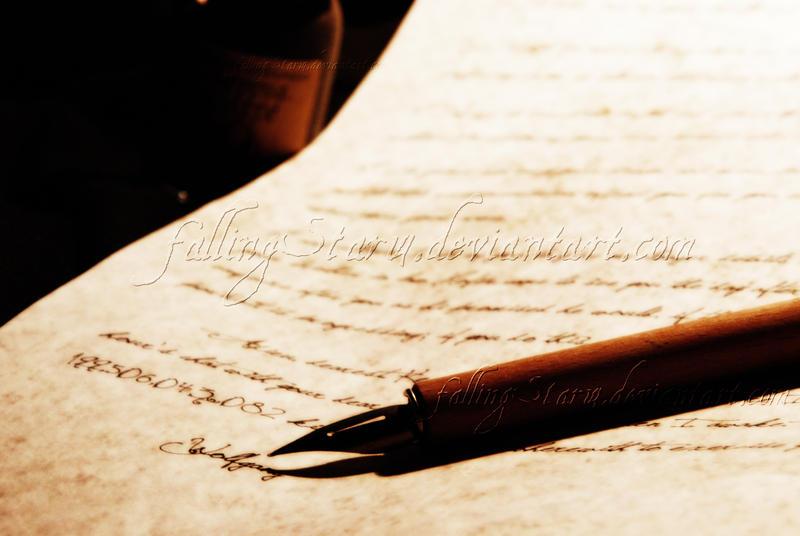A letter    by FaLLingStAr14