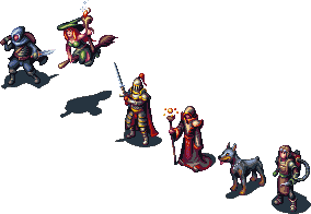 Isometric RPG group by Cyangmou