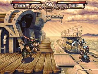 Borstl's Battle by Cyangmou