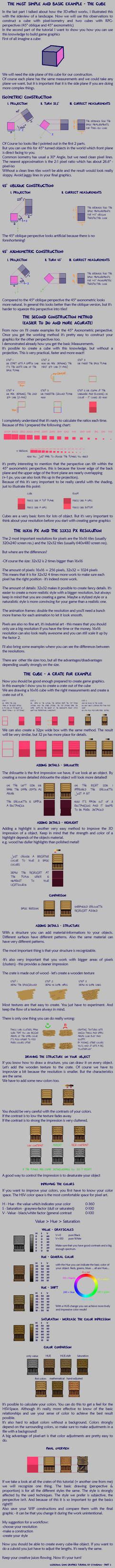 Pixel Art Tutorial 3 - The 'perfect' crate