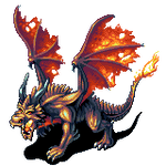 Norroth Fire Dragon