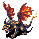Norroth Fire Dragon by Cyangmou