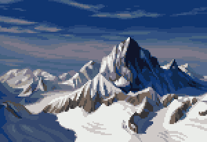 Pixel Bernese Alps by Cyangmou