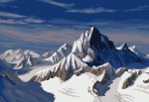 Pixel Bernese Alps by Cyangmou