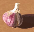 pixel garlic for tutorial by Cyangmou