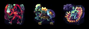 Classic RPG Monster Set